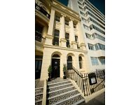 Readvertised due to tenant issue - Lovely Courtyard Brunswick flat in Seafront Regency House