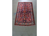 Persian Hand knotted Hamedan Rug (Semi Antique) 208cm X 123cm in very good condition,