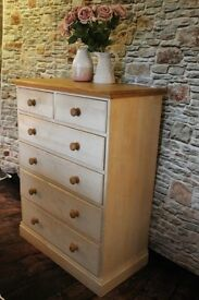 Lovely large chest of drawers