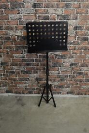 BLACK METAL MUSIC STAND £15