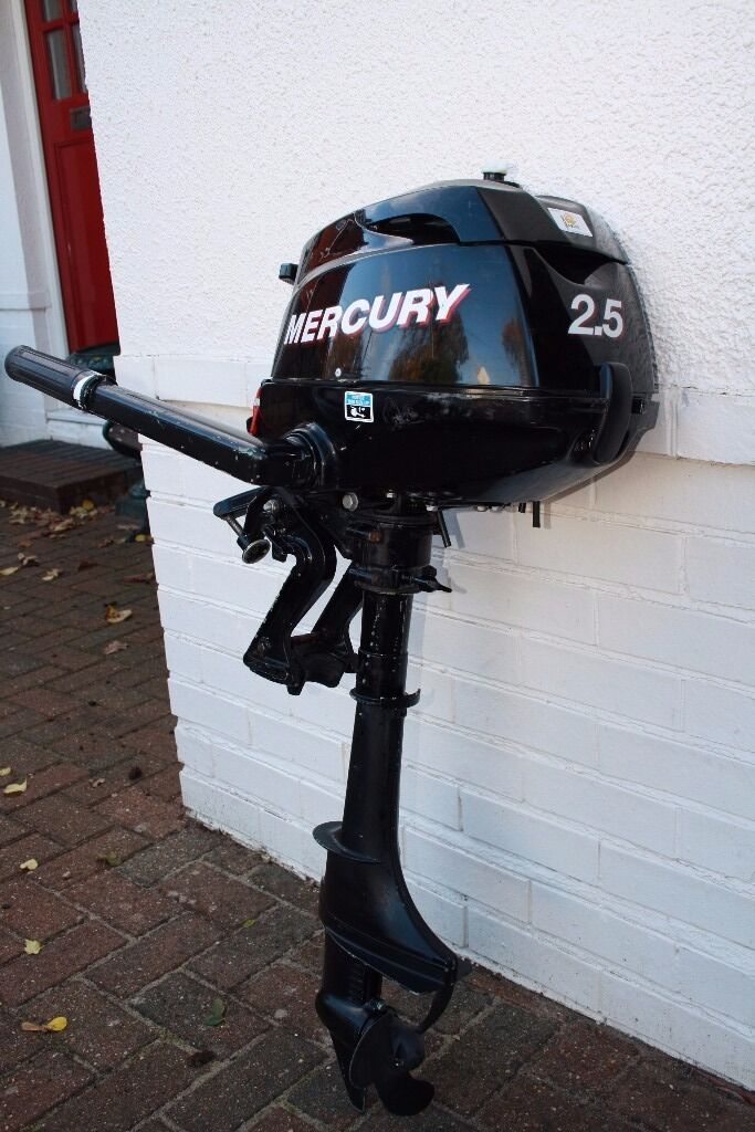 Mercury outboard 2.5hp