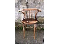 Fischel vintage bentwood chair