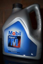 Mobil Super M 15w 40 Multigrade Car Oil - BRAND NEW SEALED -