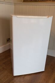 Fridge with freezer compartment, used once.