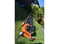 Motor mower. Easy start. Cuts and collects. Good working order and condition. 40cm / 16 inch blade.