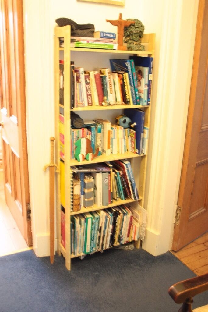 Bookcases x 7in Southside, GlasgowGumtree - I have 2 Laiva bookcases (one in photo) for £7.50 each or both for £12 I have 4 Billy bookcases in beech/oak (see stock photo) for £12 each (if you were interested in more Id do a deal) I have a large White Billy, with added height (see photo),...
