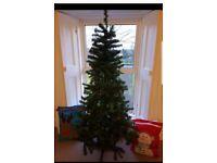 Christmas tree and 2 bags