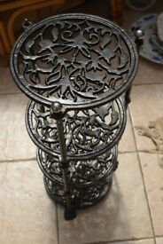 Wrought Iron Pan Rack, Vintage/Antique
