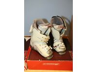 SKI BOOTS SIZE 4 -LADIES