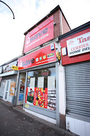 Shop, office, retail store to let, currently newsagent but closing down, busy area, Glasgow
