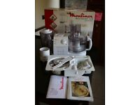 New & In Box Moulinex Masterchef 650 Electronic Food Processor Totally Complete