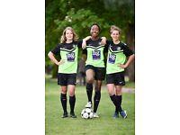 Central London womens football team seeks good experienced new players for the season ahead.