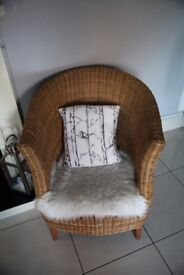 Super Comfy Rattan Chair in Great Condition