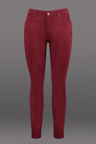 MS Mode Dames Magic Simplicity SLIMS broek Rood