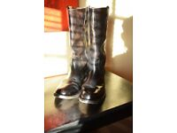 Army Officers Riding Boots