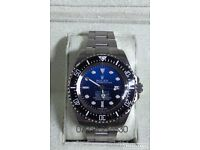 Rolex Deepsea dweller JC James Cameron 44mm luxury automatic divers watch brand new in Swiss box
