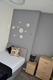2 rooms available in a beautiful 5 bed house share in Wigan -