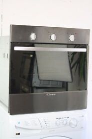 Candy Built In Single Oven Excellent Condition 12 Month Warranty Local Delivery and Install Included