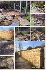 Sand Stone for Dry wall's, Decorative, etc £25 per tonne. (also have MOT/Hardcore at £10 per tonne)