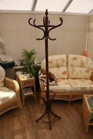 free standing hat and coat rack