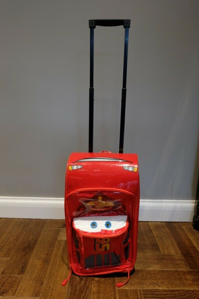 1a342f88e2bf Disney Cars Rolling Luggage Case Lightning McQueen Kids Boys Bag Travel  Suitcase   in Sandwell, West Midlands   Gumtree