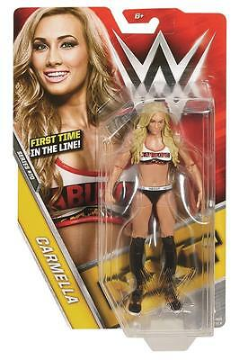 Carmella Wwe Mattel Basic 70 Brand New Action Figure Toy   Mint Packaging
