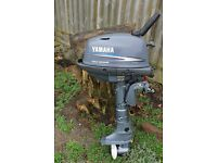 YAMAHA 4HP FOUR STROKE OUTBOARD MOTOR