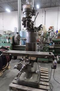 First Vertical Milling Machine