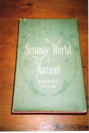 The Strange World of Nature by Bernard Gooch