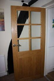glazed interior door