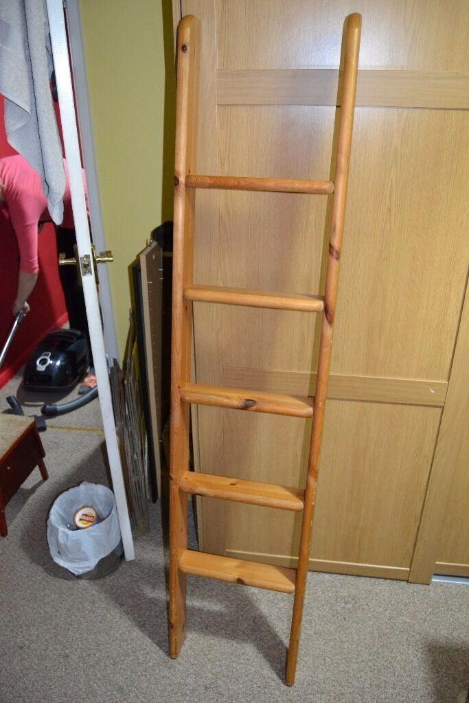 Caravan Motorhome Horsebox Wooden Bunk Bed Ladder Children Playroom