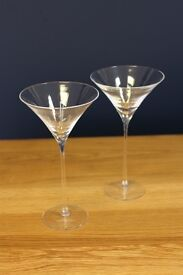 LSA BAR - Cocktail Glasses x 2 (Discounted!)