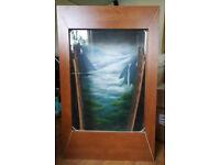 Wall vivarium/terrarium, living picture