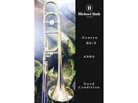 Geneva BbF Tenor Trombone with case