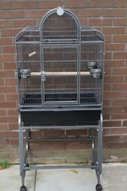 Rain forest Parrot Cage, Dark Grey, Excellent Condition, Used! £130 ON NEAR OFFER