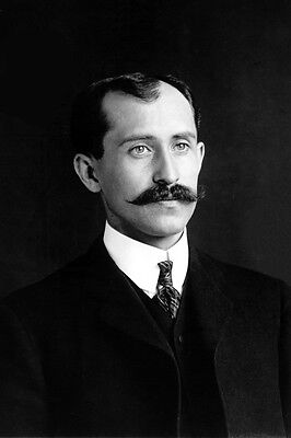 New 5x7 Photo: Aviation Flight Pioneer Orville Wright of the Wright Brothers