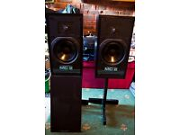 Musical Fidelity MC 2 Speakers and stands