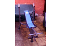 Training bench by Marcy,