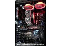 Gaming PC Ryzen 5 1600, X370,GTX980Ti AiO,16GB 3000MHz RAM,250GB SSD M.2, 1.15GB HHDs, Phanteks case