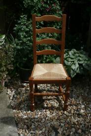 6 French Farmhouse Chairs