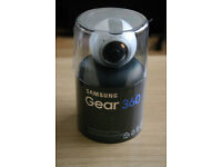 Official Samsung Gear 360 Camera Action Camcorder SM-C200 BRAND NEW RRP £349.00 1 Year Warranty