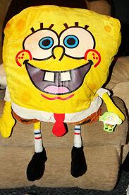 Sponge Bob Sqare Pants with tag.