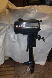 Yamaha 2 hp. outboard motor