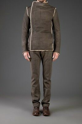 NWT $5500 RARE NICOLAS ANDREAS TARALIS Shearling Jacket 40 OWENS GUIDI ma+