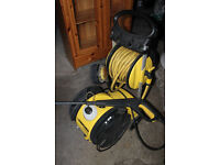 Karcher B602 Power Pressure Washer With Brushes And Hose Bottle Ect