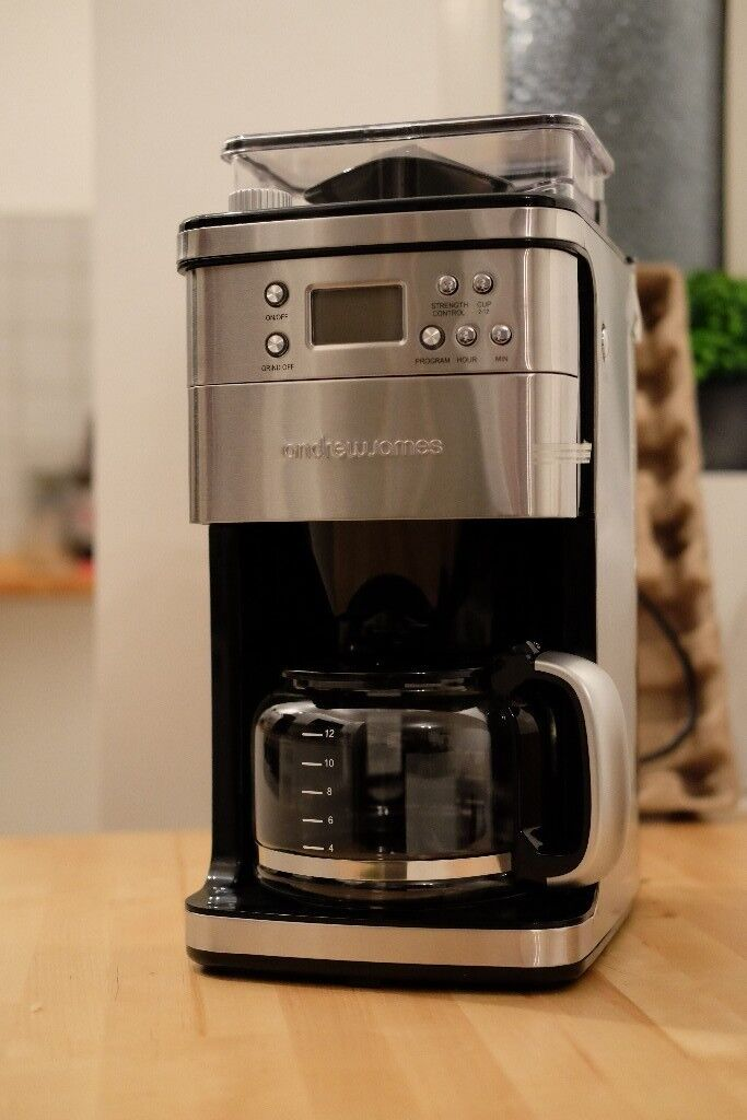Brand New Andrew James Coffee Machine Coffee Maker With Integrated Grinder In Shipley West Yorkshire Gumtree