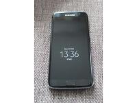 Samsung Galaxy S7 edge unlocked black onyx as new