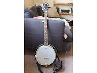 5-String Resonator Banjo - Stagg