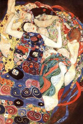 Gustav Klimt The Virgin 1913 Art Nouveau Symbolism Painting Art Poster - 12x18 comprar usado  Enviando para Brazil