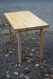 Beech dining/side table